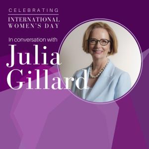 In Conversation with Julia Gillard